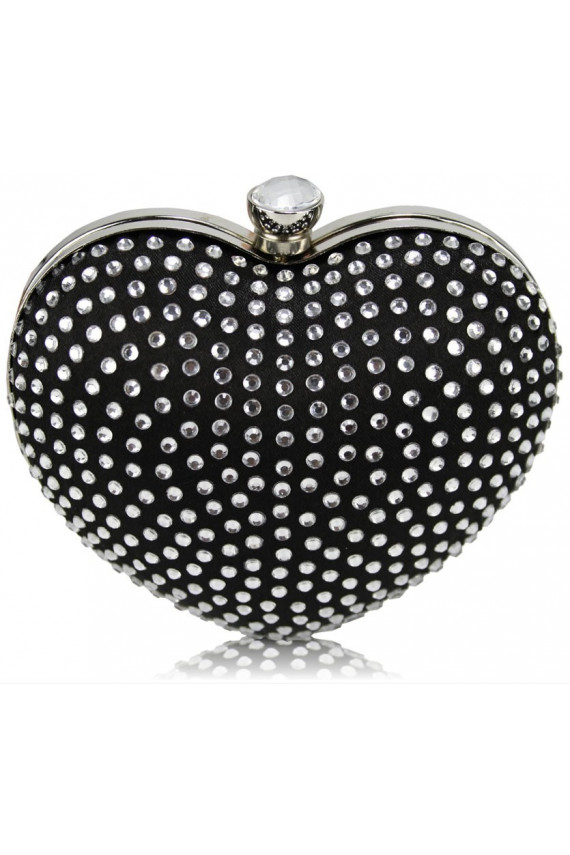 "Delninė ""Luxury Black Heart"""