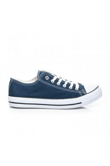 Klasikiniai mėlyni Oldschool sportbačiai B083-1D.BL / D1-L32