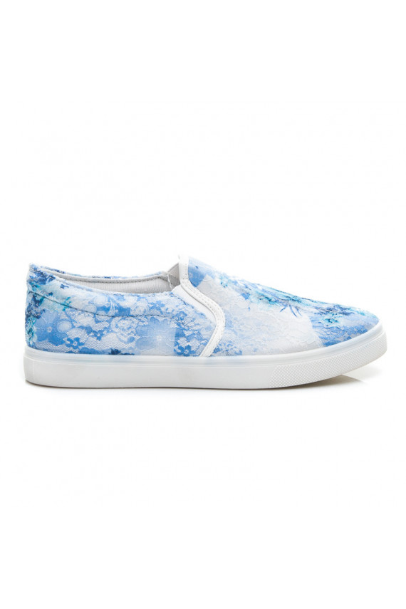 Slip On batai - Flowers & Lace AM-26BL / S2-6P