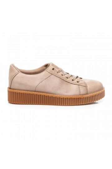 Kapučino spalvos CREEPERS modelio batai RIHANNA STYLE XY16293KH