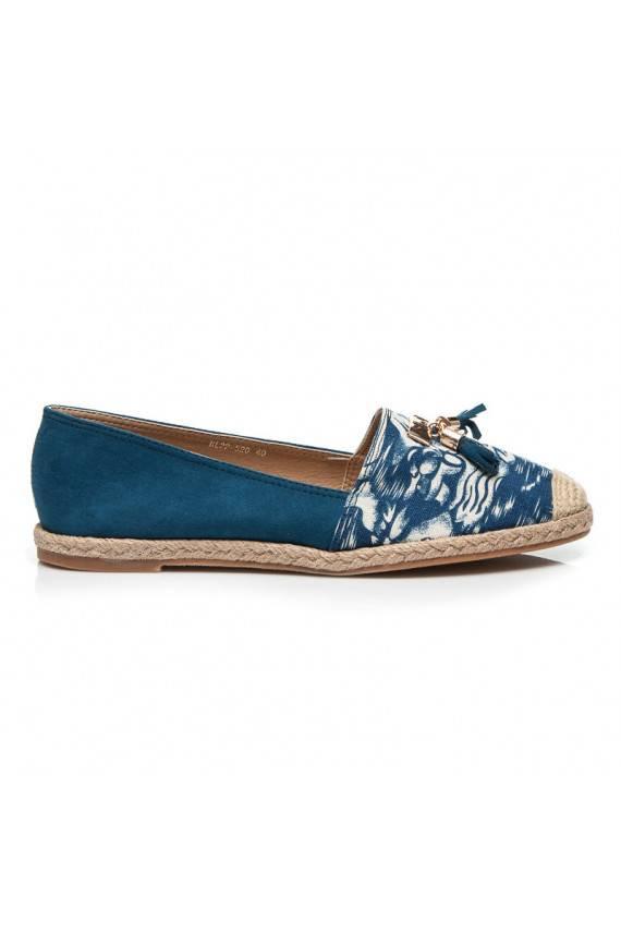 """Espadrilės """"Jeans Blue Suede"""" BL22-520BL"""