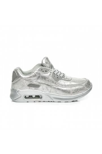 Sportiniai masyvūs sidabrinai batai 1-7S