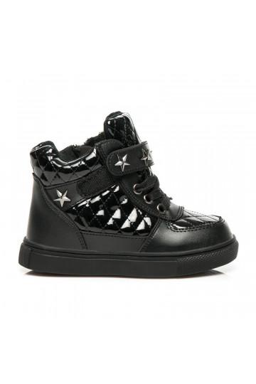 Vaikiški juodi batukai STARS JB-325B