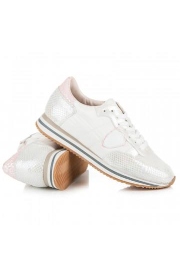 Stilingi balti laisvalaikio stiliaus batai moterims JT32-41W