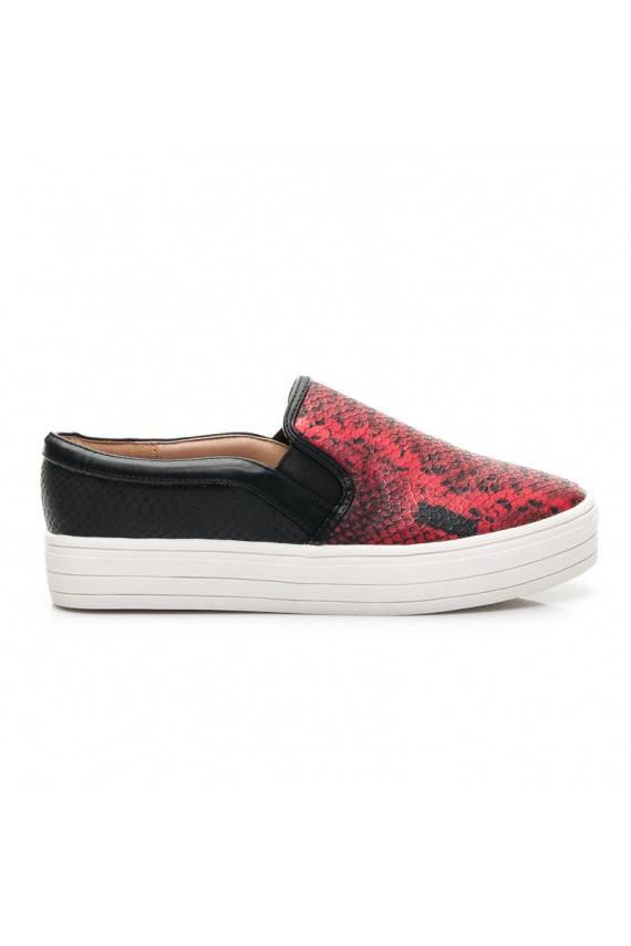 Storapadžiai Slip_on batai Q33-19R /S1-2P