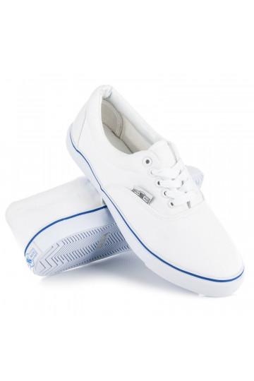 Balti vyriški laisvalaikio batai 0086W/BL