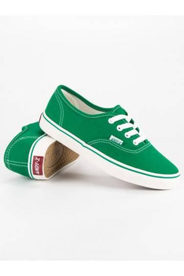 Žalios spalvos moteriški laisvalaikio bateliai Andy Z A8865GR