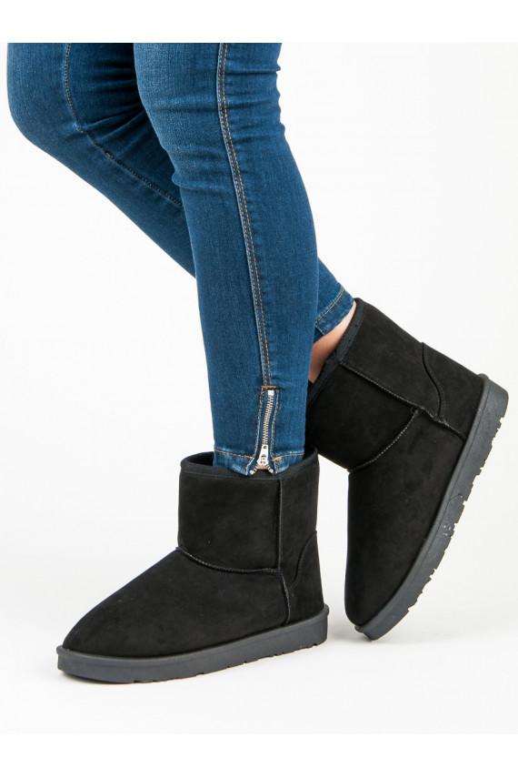 Juodos spalvos mukluki batai iš Vices B813-1B