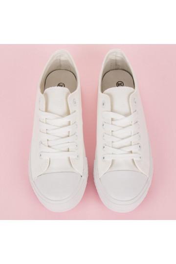 Baltos spalvos laisvalaikio batai NB176W