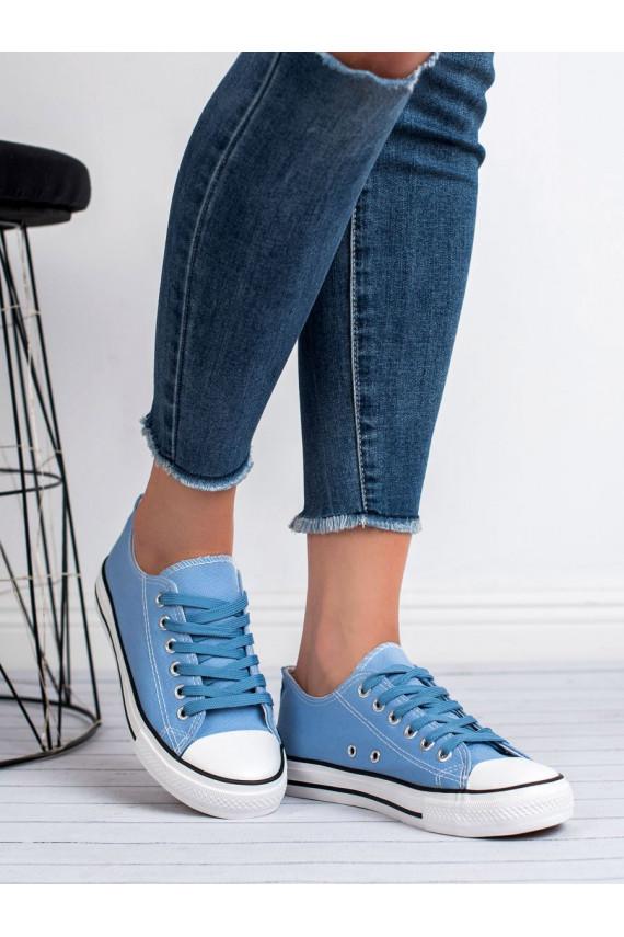 Klasikinio modelio Mėlynos spalvos laisvalaikio batai LD8A07L.BL