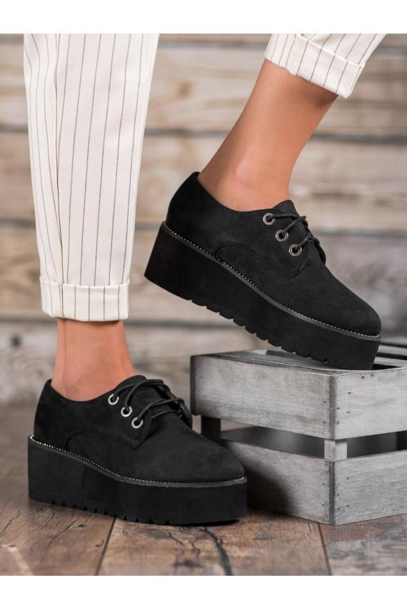 zomšiniai batai su platforma 1681B