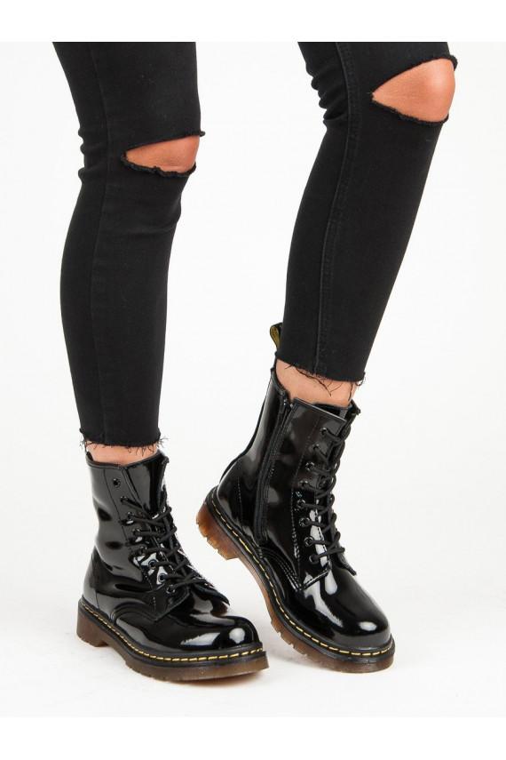 Natūralios odos moteriški kerziniai batai MCKEY GL430/18B